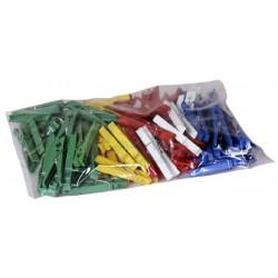 Kolíčky 100 ks  7,4x1,5 cm  plast