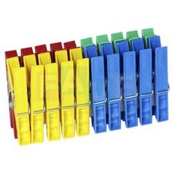 Kolíčky 20 ks  7,2x2 cm  plast