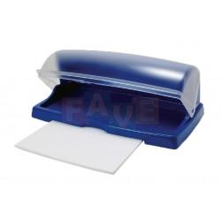 Chlebník s krájecí deskou  47x29x18 cm  plast  mix barev