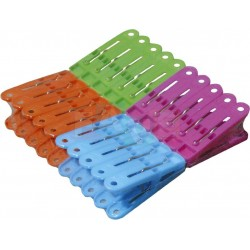 Kolíčky Economic 20 ks  5x2 cm  plast