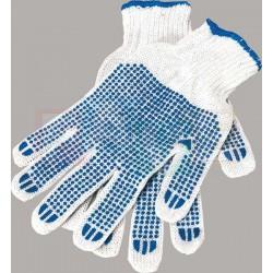 Rukavice s gumovými terčíky  22x15 cm  guma  bavlna