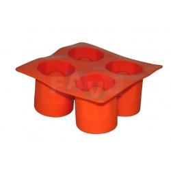 Forma na panáky ledové čokoládové  13x5 cm  silikon