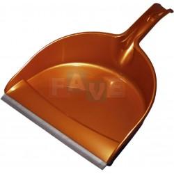 Lopatka Compact s gumou  32,5x22,5 cm  plast  mix barev