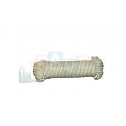 Šňůra prádelní 15 m  22x7 cm  bavlna