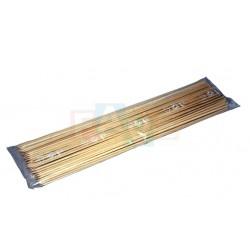 Špejle hrocené balení 100 ks  20x6 cm  dřevo