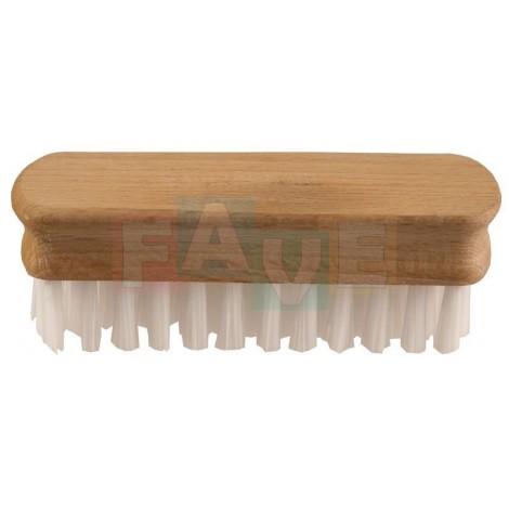 Kartáček dřevěný jednostranný  10x3,5 cm  chlup 1,5 cm  dřevo, plast